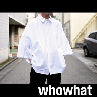 SUNSEA - Whowhat 19ss 5XL SHIRTS (short length )