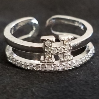 H モチーフ 指輪(リング(指輪))