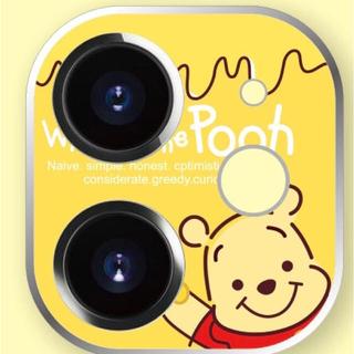 ★プーさん iPhone 11用カメラ・レンズプロテクター pooh-2