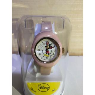 ディズニー(Disney)のディズニー ミッキーマウス 腕時計 ピンク(腕時計)