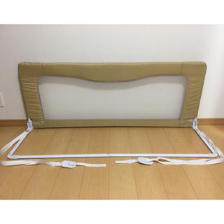 日本育児 - ベッドフェンス ハイタイプ ベッドガード 日本育児
