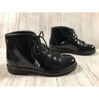 カルペディエム(C DIEM)のレアモデル ディエッメ   パテントレザー(ブーツ)