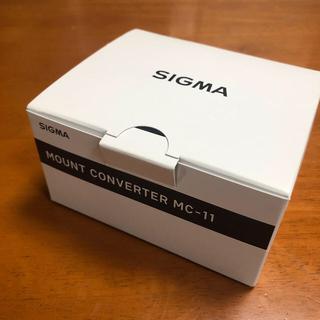 シグマ(SIGMA)のSIGMA mc-11 マウントコンバーター(ミラーレス一眼)