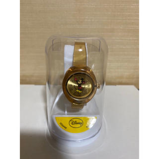 ディズニー(Disney)のディズニー ミッキーマウス 腕時計 ゴールド(腕時計)
