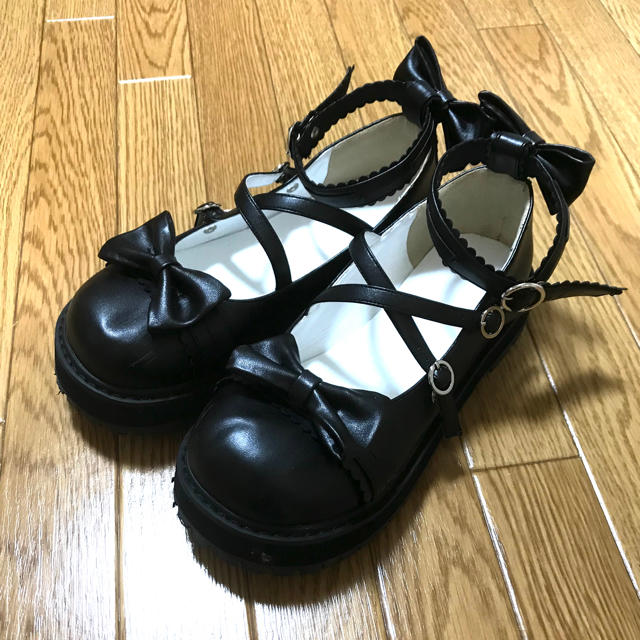 さくら様専用✩ロリータ おでこ靴23.5cm レディースの靴/シューズ(ハイヒール/パンプス)の商品写真