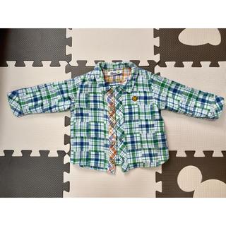 キムラタン(キムラタン)のピッコロ チェックシャツ 80(シャツ/カットソー)