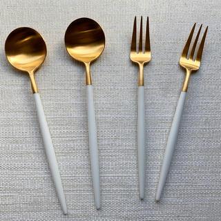イッタラ(iittala)のクチポール・デザートスプーン、デザートフォーク(カトラリー/箸)