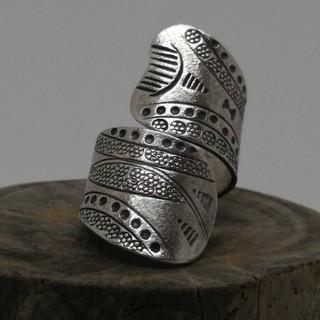 KSR-K1 カレン族シルバー リング(リング(指輪))