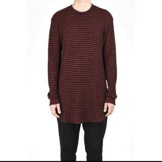 ラッドミュージシャン(LAD MUSICIAN)のLONG SLEEVE BIG T-SHIRT 17aw   サイズ44(Tシャツ/カットソー(七分/長袖))