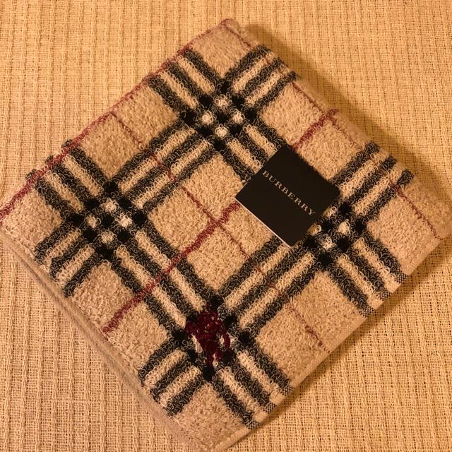 BURBERRY(バーバリー)のバーバリー タオルハンカチ  パイル生地 レディースのファッション小物(ハンカチ)の商品写真
