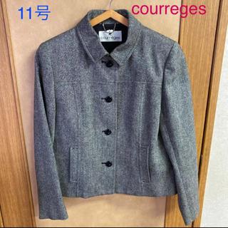クレージュ(Courreges)のクレージュ 11号 グレー ジャケット(テーラードジャケット)