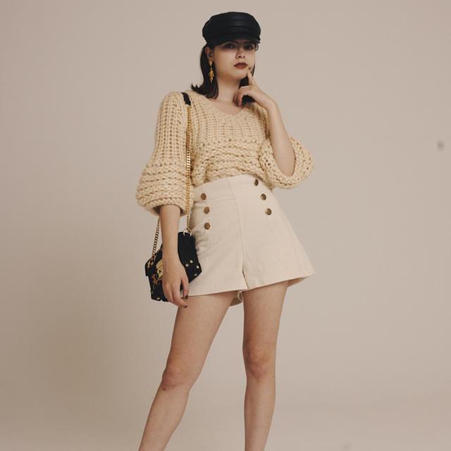epine コーデュロイ ショートパンツ  レディースのパンツ(ショートパンツ)の商品写真