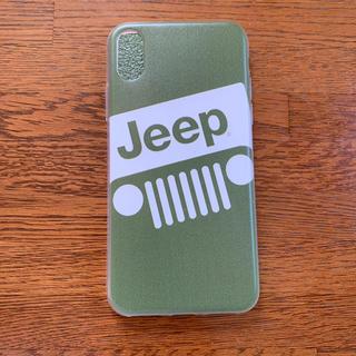 ジープ(Jeep)のiPhoneX ケース (iPhoneケース)
