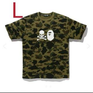 マスターマインドジャパン(mastermind JAPAN)のマスターマインド VS アベイシングエイプ  Tシャツ L(Tシャツ/カットソー(半袖/袖なし))