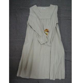 SM2 - サマンサモスモス 衿刺繍ワンピース