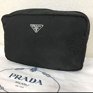 PRADA - PRADA‼️超美品(^^)パラシュート生地  ポーチ‼️