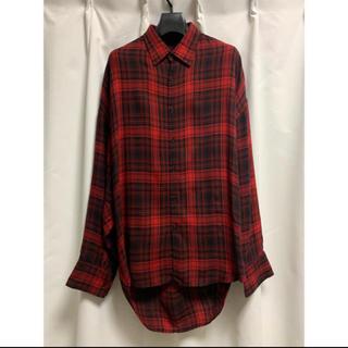 ラッドミュージシャン(LAD MUSICIAN)のITEM NO.2216-122  チェックシャツ ビックシャツ(シャツ)