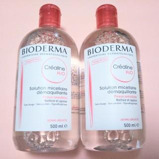 BIODERMA - 500ml×2本 ビオデルマ  クレアリヌ(サンシビオ) H2O