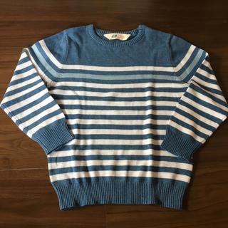 H&M - H&M 綿100%セーター110