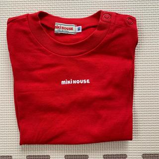 mikihouse - ミキハウス ロゴT 90