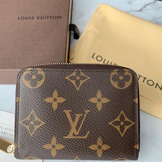 LOUIS VUITTON - 【美品】LOUIS VUITTON/ルイヴィトンジッピーコインパース/小銭入れ