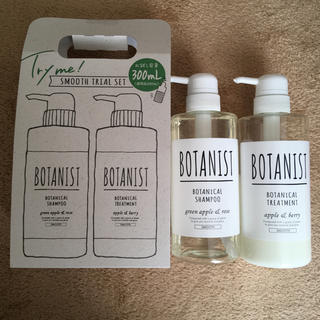 BOTANIST - BOTANISTボタニカルチルシャンプー/トリートメント スムース