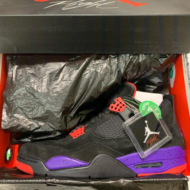 NIKE(ナイキ)のエアジョーダン4 OVO Raptors Drake 28cm 新品 メンズの靴/シューズ(スニーカー)の商品写真