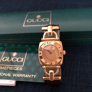 Gucci - GUCCI グッチ腕時計 6300L  (メンテナンス済み)