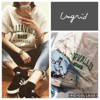 Ungrid - Ungrid**CORVALLISロゴtee