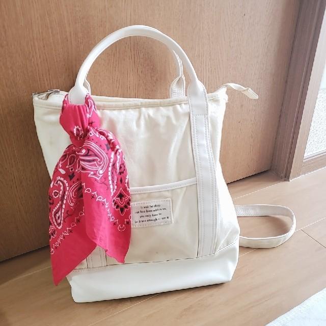 HONEYS(ハニーズ)のキャンバストートバッグ リュック レディースのバッグ(リュック/バックパック)の商品写真