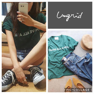 Ungrid - Ungrid**I HAVE ALL A NEED tee
