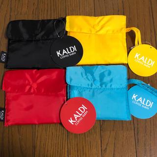 カルディ(KALDI)の【新品】カルディ エコバッグ (黒も入荷しました)(エコバッグ)