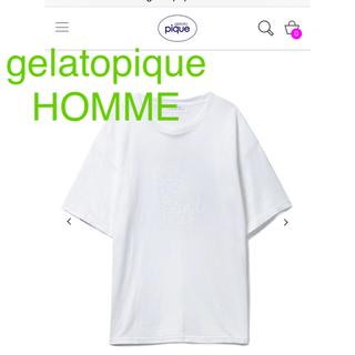 ジェラートピケ(gelato pique)のジェラートピケ オム メンズ Tシャツ(Tシャツ/カットソー(半袖/袖なし))