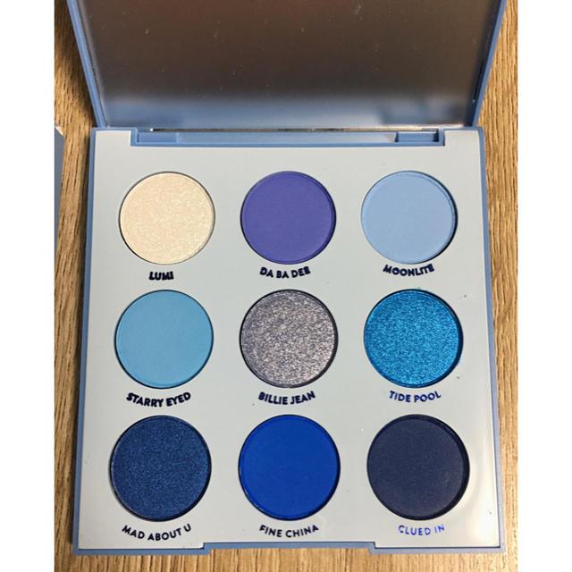 colourpop(カラーポップ)のカラーポップ  Blue Moon アイシャドウパレット コスメ/美容のベースメイク/化粧品(アイシャドウ)の商品写真