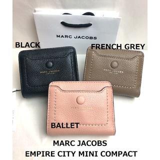 MARC JACOBS - マークジェイコブス 財布 グレー ミニウォレット 折財布 M0014215