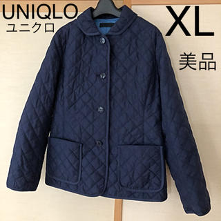UNIQLO - UNIQLO ユニクロ 中綿キルティング ジャケット XL 美品 素敵 可愛い