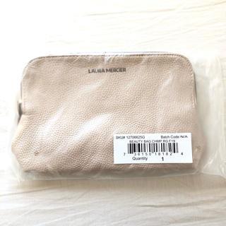 ローラメルシエ(laura mercier)の新品ローラメルシエ 化粧ポーチ特製ビューティーバッグベージュ ノベルティ新品(ポーチ)