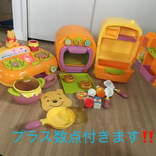 Disney - レア!プーさん音のなるキッチン!大量セット!