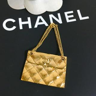 CHANEL - 正規品 シャネル ペンダント マトラッセ ココマーク 金 バッグ 鞄 ネックレス