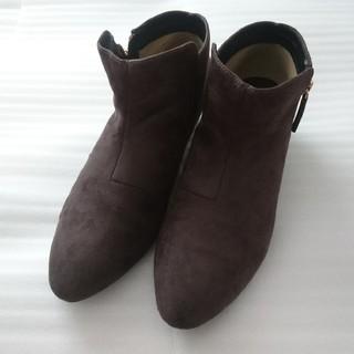 ピンクアドべ(PINK ADOBE)のピンクアドベ フェイクスエード素材 ショートブーツ(ブーツ)