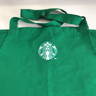 スターバックスコーヒー(Starbucks Coffee)のスターバックス エプロン 限定(キャラクターグッズ)