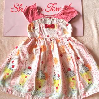 Shirley Temple - シャーリーテンプル シトラスソーダ ワンピース 100