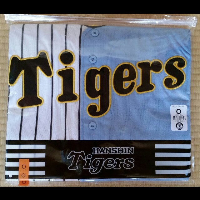 MIZUNO(ミズノ)の阪神タイガース ユニフォーム 伝統の一戦 輝流 O スポーツ/アウトドアの野球(応援グッズ)の商品写真