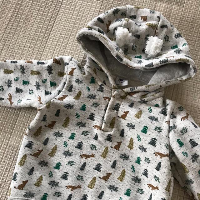 PETIT BATEAU(プチバトー)のプチバトー トレーナー  キッズ/ベビー/マタニティのベビー服(~85cm)(トレーナー)の商品写真