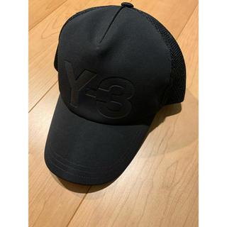 ワイスリー(Y-3)のy-3  キャップ黒 TRUCKER CAP(キャップ)
