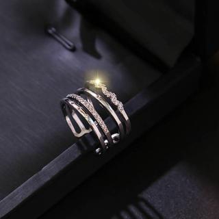 ☆即日発送☆早いもの勝ち☆指輪 フリーサイズ☆編み込みリング♪(リング(指輪))