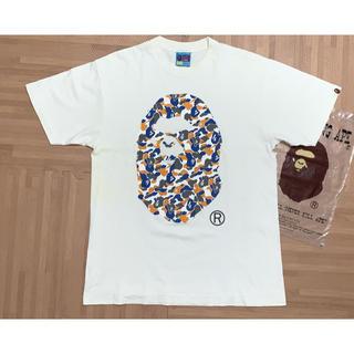 A BATHING APE - ★激レア★ APE 前橋店舗カラー 大猿 Tシャツ 白 L シャーク