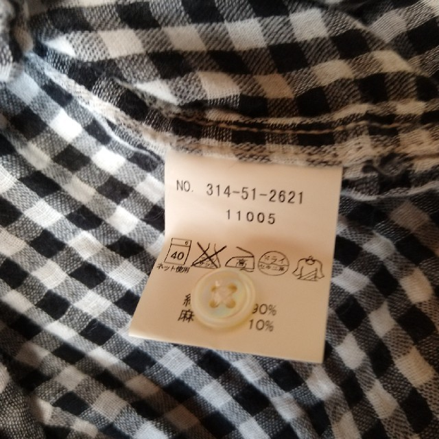 SHIPS(シップス)の美品 SHIPSシャツワンピース レディースのトップス(シャツ/ブラウス(長袖/七分))の商品写真