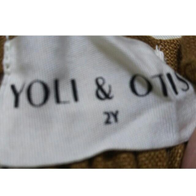 Caramel baby&child (キャラメルベビー&チャイルド)の新品 YOLI&OTIS シャーリングワンピース 2y キッズ/ベビー/マタニティのベビー服(~85cm)(ワンピース)の商品写真
