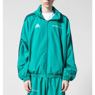 コムデギャルソン(COMME des GARCONS)のgosha adidas グリーン セットアップ(ナイロンジャケット)